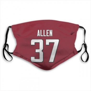 Atlanta Falcons Ricardo Allen Jersey Name and Number Face Mask - Red